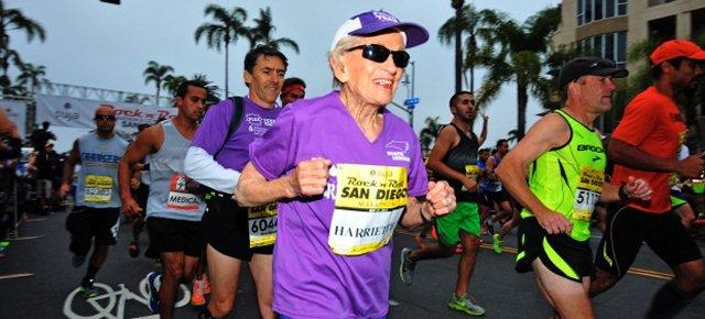 Completa una maratona a 91 anni