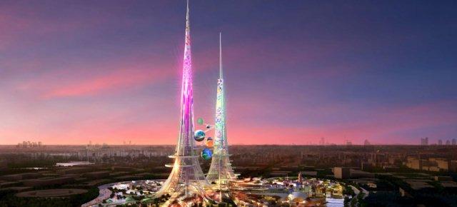 Grattacielo di 1000 metri salverà il mondo
