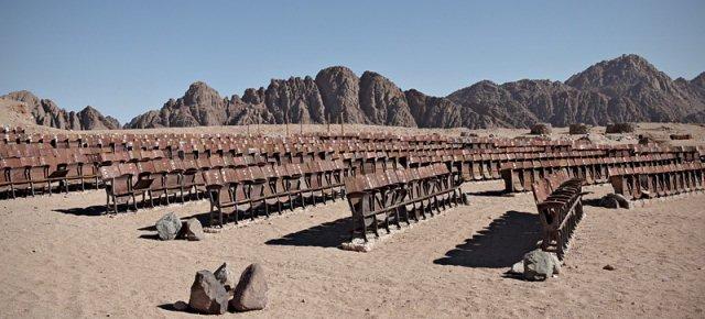 Ecco il cinema nel deserto