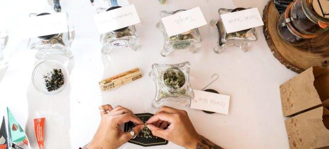 Marijuana agli ospiti del loro matrimonio