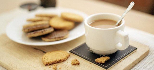 Biscotti sbriciolati nel tè? No grazie