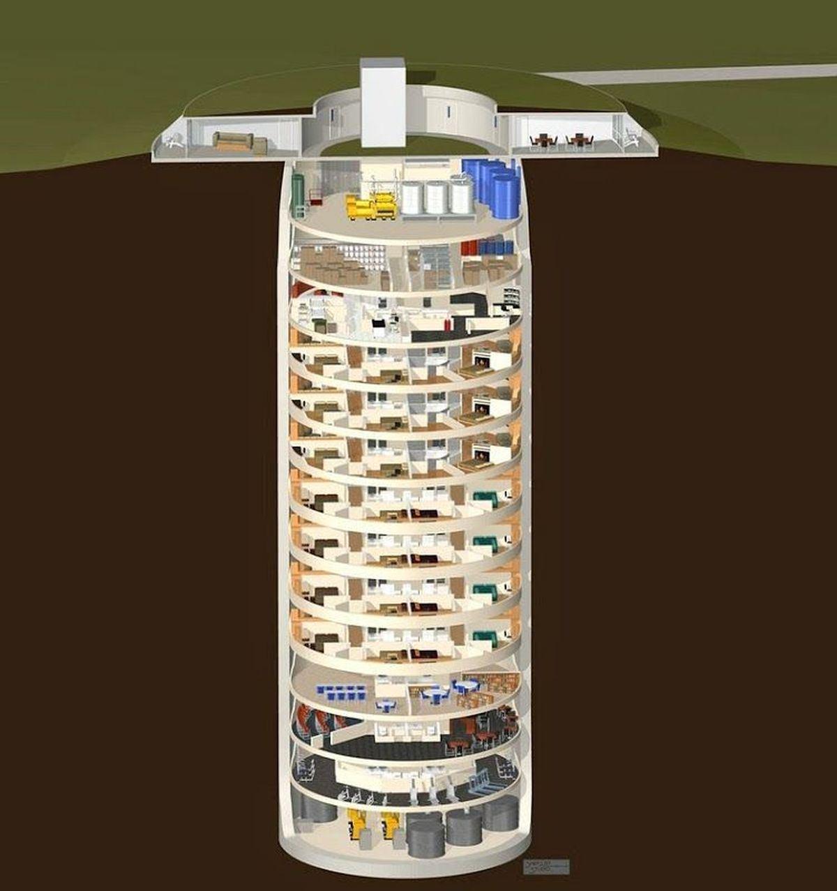 Bunker sotterraneo