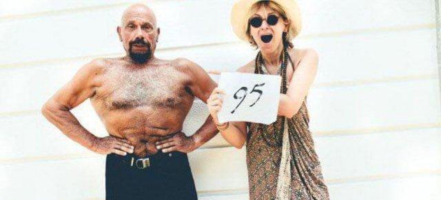 Quest'uomo ha 95 anni!