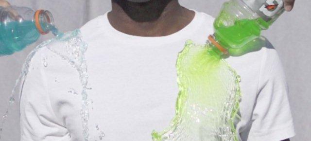 La maglietta che non si sporca mai