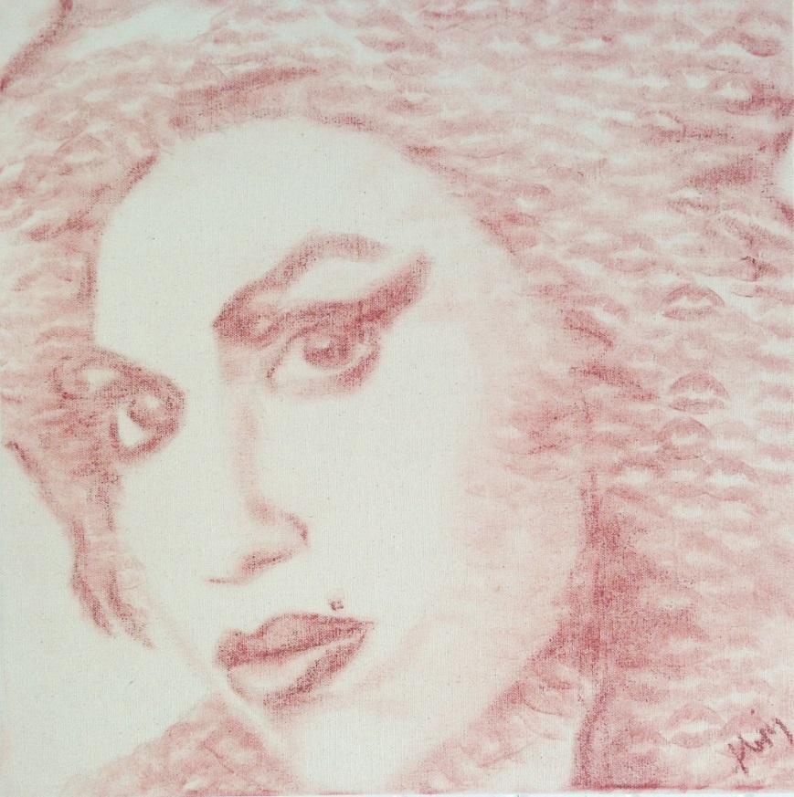 Gli incredibili dipinti fatti di... baci 3