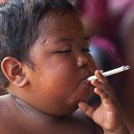 Dipendenza dal fumo a 2 anni