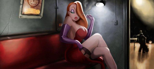 Una ragazza si trasforma in Jessica Rabbit