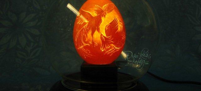 Opere d'arte incise sulle uova