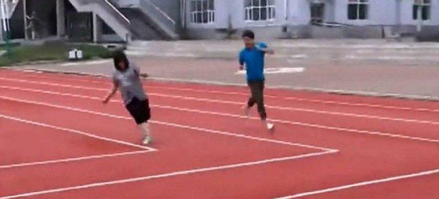 In Cina la prima pista di atletica rettangolare