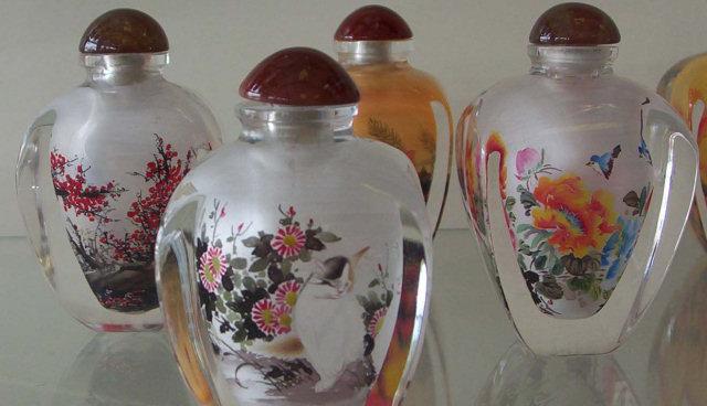 Bottigliette da tabacco dipinte - Cina