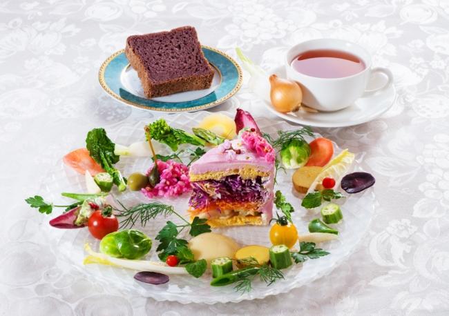 Le fantastiche insalate a forma di torta
