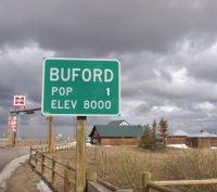 Buford, la città con un solo abitante