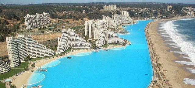 In Cile la piscina più grande al mondo