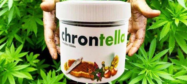 Chrontella, la nuova Nutella alla marijuana