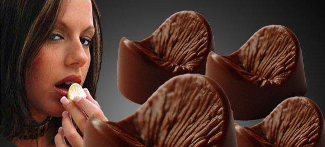 Ecco i cioccolatini a forma di ano