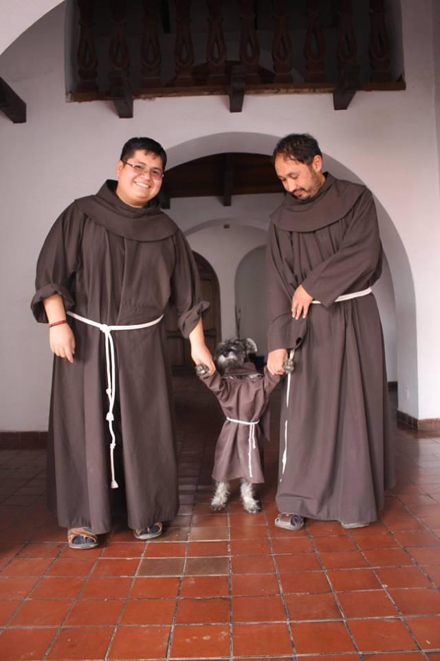 Monastero adotta un cane e lo fa diventare frate 2