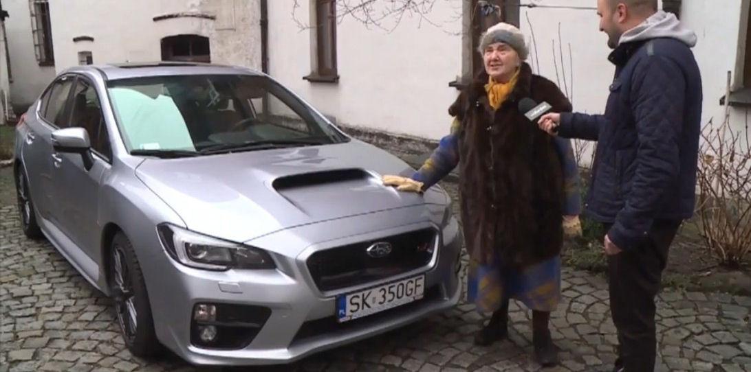 Sfreccia con una Subaru a 81 anni 2