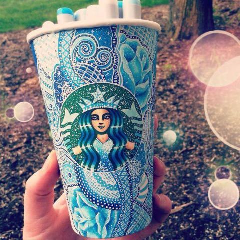 Rende bicchieri di Starbucks dei capolavori 2