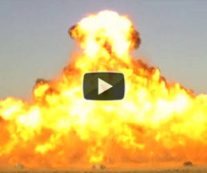 Albero di Natale esplosivo