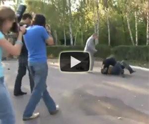 Fotografo litiga durante un matrimonio