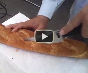 Ecco l'incredibile velocità e precisione di una lama ad ultrasuoni