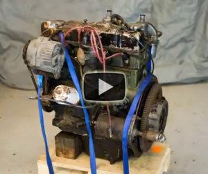 Restaurare un motore distrutto