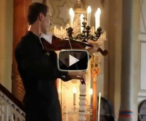 Violinista viene interrotto e...