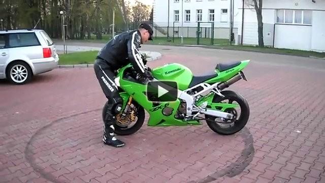 Come distruggere una motocicletta