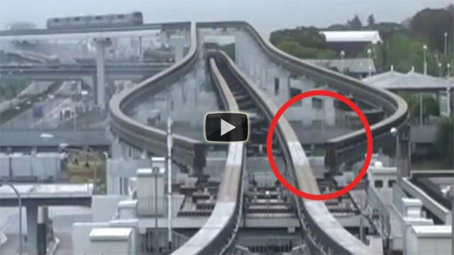Ecco l'incredibile sistema della monorotaia giapponese