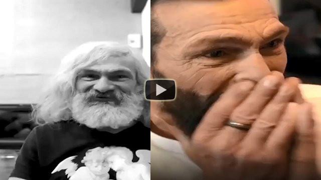 L'incredibile trasformazione di un senzatetto