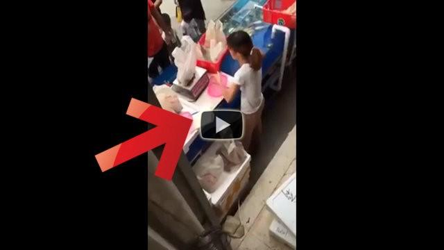 Vende pesce fresco al mercato ma truffa così i suoi clienti