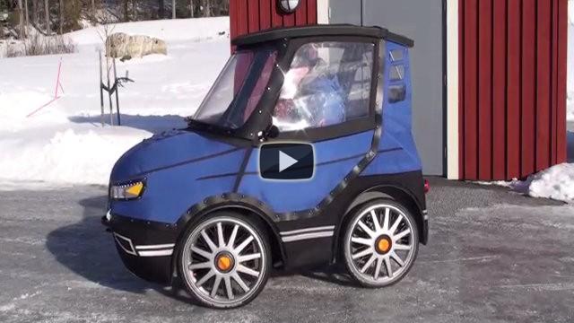 Tutti credono si tratti di una piccola automobile ma non è così!