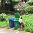 Come buttare la spazzatura like a boss