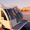 Un mini appartamento sulla barca, ecco la roulotte che tutti sognano