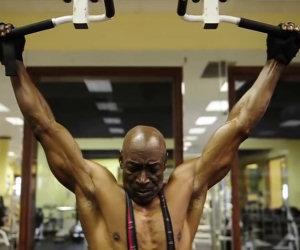Bodybuilder 70enne è più in forma di te!