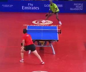 41 colpi in 40 secondi, ecco uno scambio di ping pong epico!
