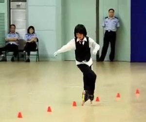 Abilissima pattinatrice cinese