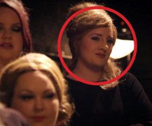 Adele si maschera e va ad un provino ma arriva il suo turno e...