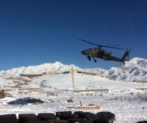 Apache AH-64 cade in Afghanistan