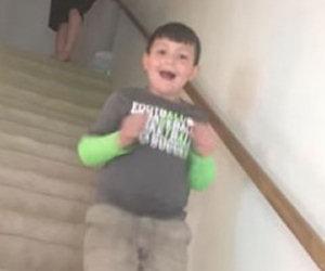 La mamma gli dice che ha sconfitto la sua malattia: ecco la reazione!