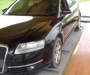 In Cina i parcheggi funzionano così, guardate e restate sbalorditi