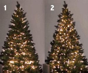 Ecco alcuni consigli utili per mettere le luci sull'albero di Natale