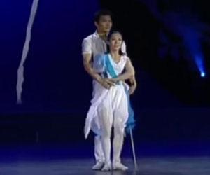 Lui senza gamba, lei senza un braccio, ecco cosa riescono a fare