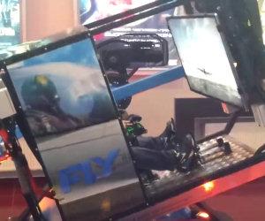 Epico simulatore di volo