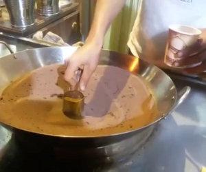 Fare il caffè con la sabbia. Che maledizione è mai questa?