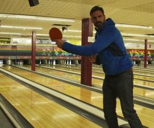 Fare strike con palla da ping pong