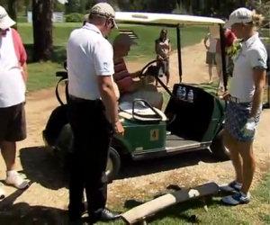 Giocare a golf può essere pericoloso