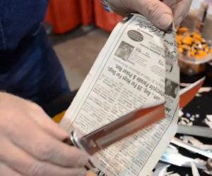 Il coltello più affilato del mondo