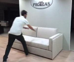Il divano che si trasforma