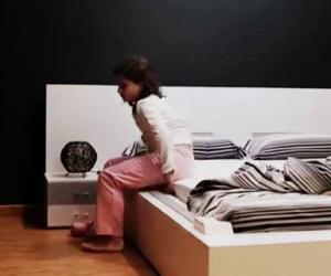 Il letto che si rifà da solo